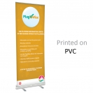 "36"" w x 82"" h Retractable Banner & Stand"
