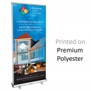 "33"" x 82"" Magnetic Retractable Banner Kit - Double Sided"